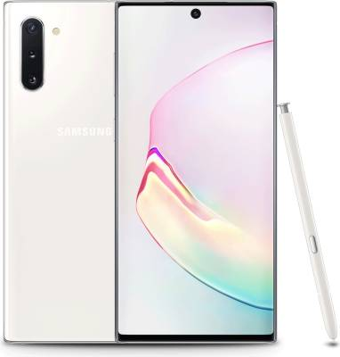 "SM-N970FZWDXFA Samsung Galaxy Note 10 6.3"" 2280x1080 256GB LTE White Android Smartphone"